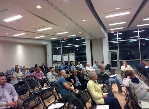 "The Crowd at the ""Provo Accelerated"" Event on October 28, 2014"