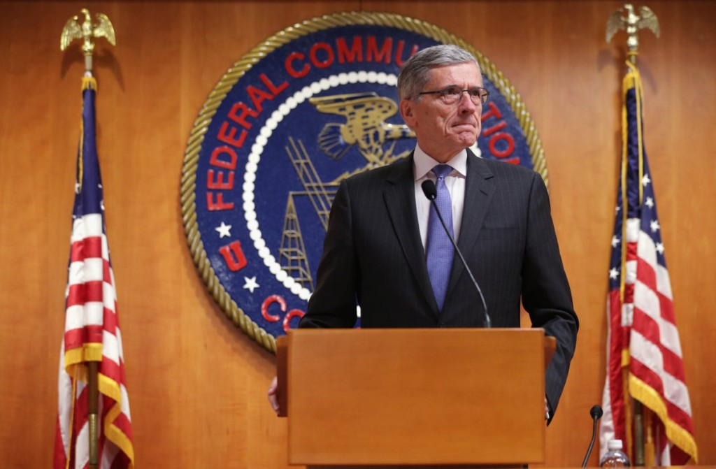 FCC Chairman Tom Wheeler via time.com