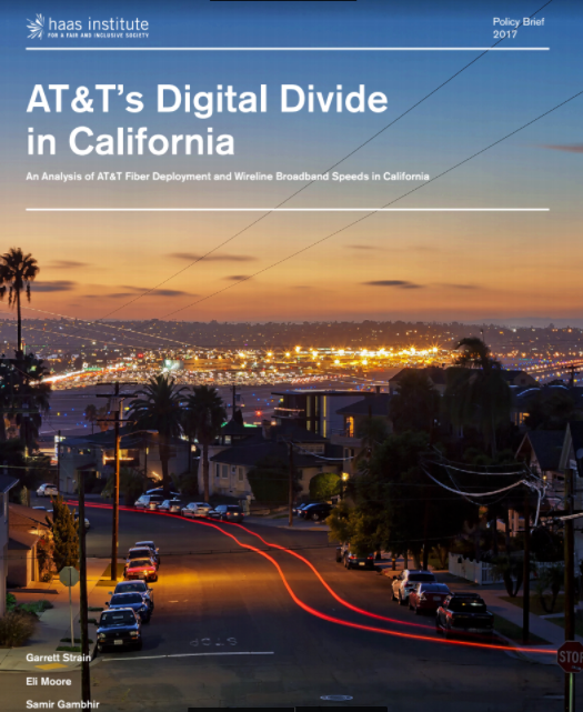 An Examination Of The Wealth Disparities In Neighborhoods Served By AT&T's Fiber Deployment